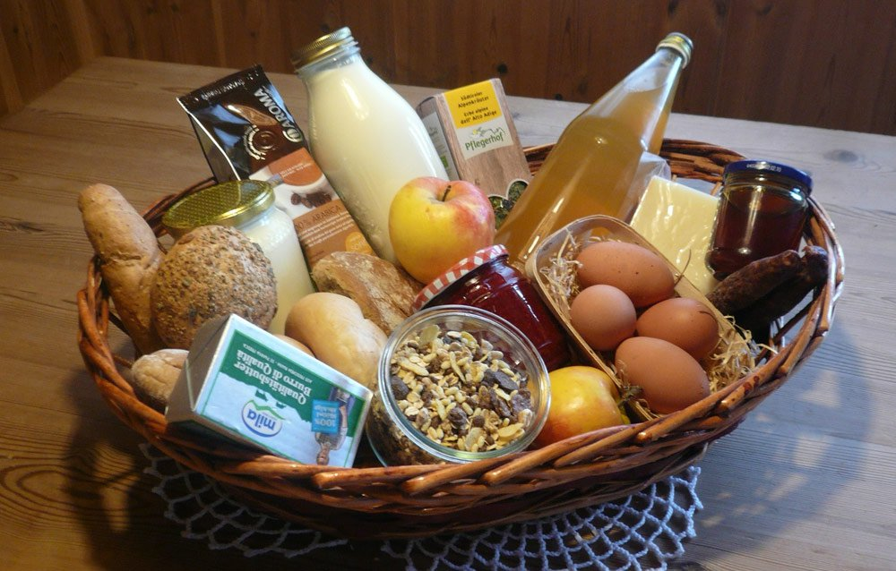 Breakfast basket every day