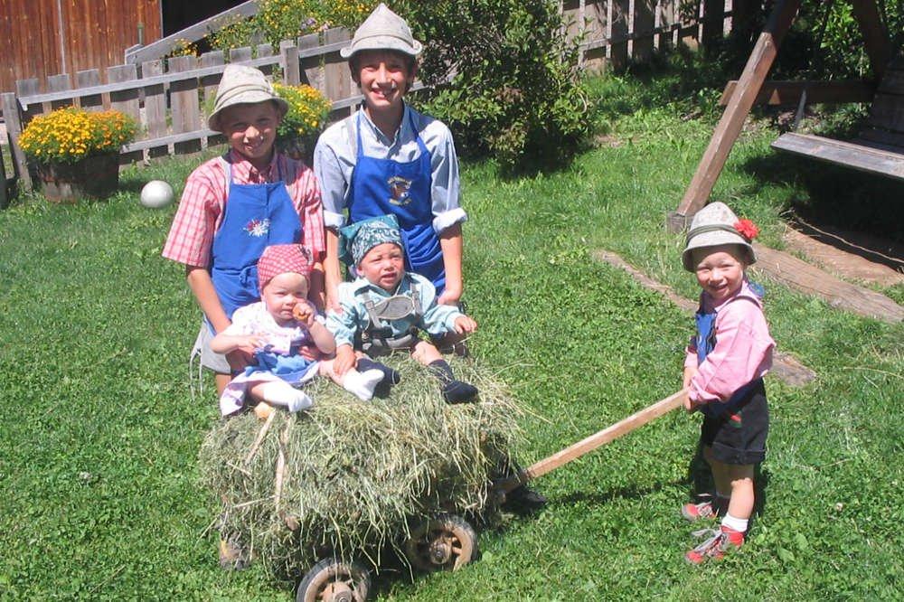 In Summer zum Familienurlaub noch Völs am Schlern
